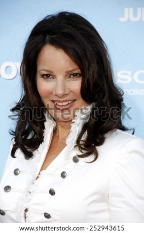"LOS ANGELES, USA - JUNE 4: Fran Drescher at the Los Angeles premiere of ""That's My Boy"" held at the Westwood Village Theater, Los Angeles, USA on June 4, 2012."
