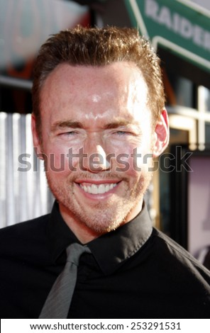 """LOS ANGELES, USA - OCTOBER 2: Kevin Durand at the Los Angeles Premiere of """"Real Steel"""" held at the Gibson Amphitheatre in Universal City, USA on October 2, 2011. - stock photo"""