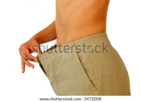 Losing weight - stock photo