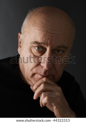 Lost in thought - stock photo