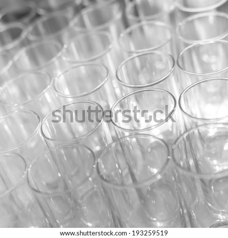 Lot of glasses, catering on a banquet.