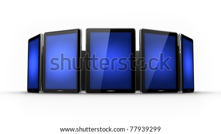 Lot of pads - stock photo