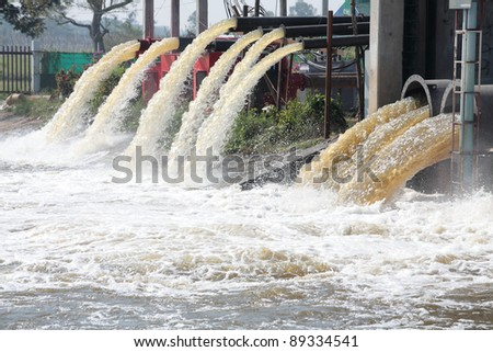 lot of water pipe. - stock photo