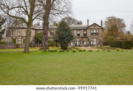Lotherton Hall in Leeds, UK - stock photo