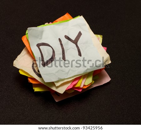 Lots of decisions on what to spend your money on - stock photo