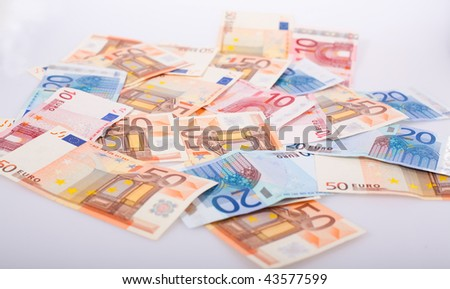 lots of euro money