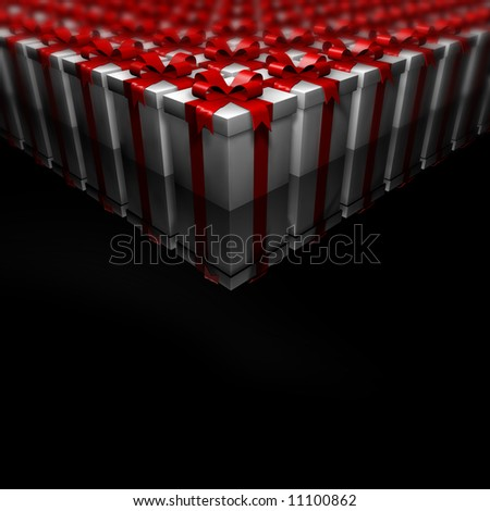 Lots of Gifts - stock photo