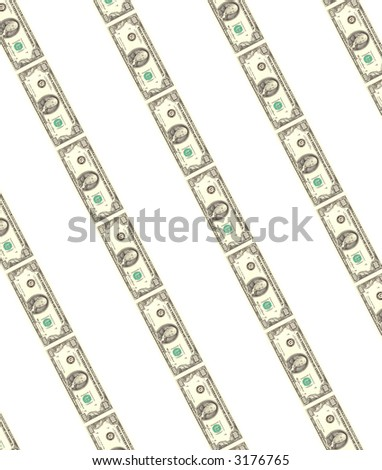 lots of real 100 dollars for background