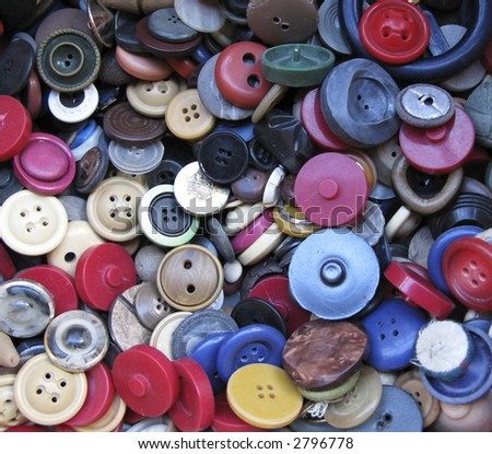 Lots of second-hand Buttons.