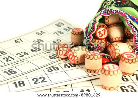 Lotto. - stock photo
