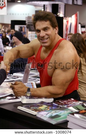 Lou Ferrigno at the 2005 Arnold Fitness Health Expo in Columbus, Ohio. - stock photo