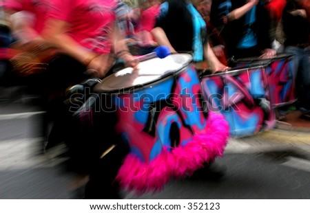 Loud Drum - stock photo
