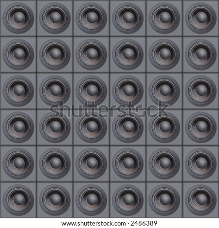 Loud Speakers (Design Element) - stock photo