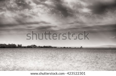 Lough Neagh (Lake), Northern Ireland.