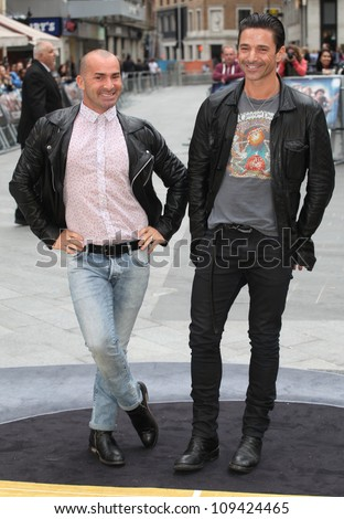 Louie Spence arriving for the Rock Of Ages Premiere, Odeon Leicester Square, London. 10/06/2012 Picture by: Alexandra Glen / Featureflash