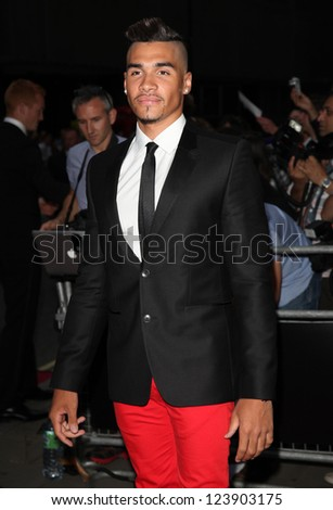 Louis Smith arriving for the 2012 GQ Men Of The Year Awards, Royal Opera House, London. 05/09/2012 Picture by: Alexandra Glen