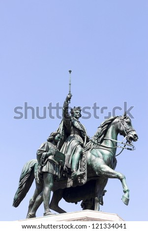 Louis the First - stock photo