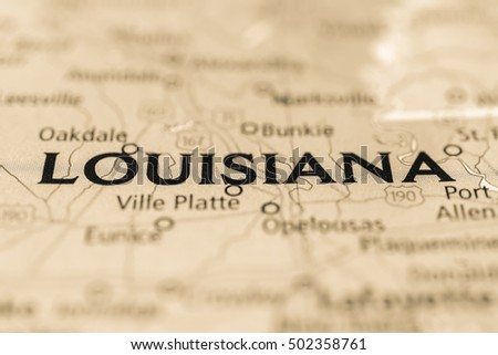 Louisiana State, USA.
