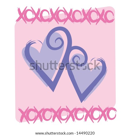 Love kisses graphic funky hearts xoxo stock illustration 14490220 love and kisses graphic with funky hearts and xoxo graphics in jpegtiff format altavistaventures Choice Image