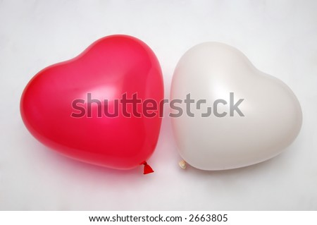 Love Baloons - stock photo