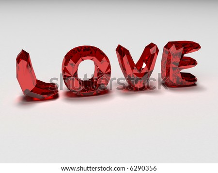 love brilliants - stock photo