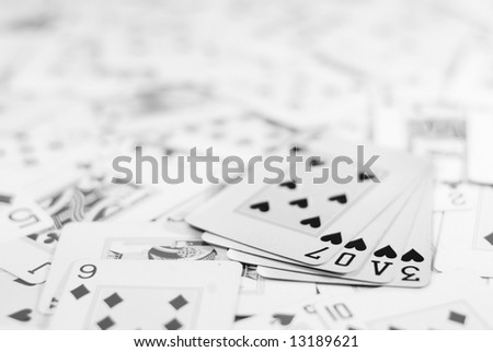 Love cards - stock photo