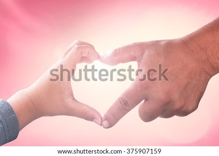 Love concept. CSR God Son Child Trust Time Dad Human Hand Kid Team Pray Arbor Sun Sky Doctor Kind Many Earth Form Help Unity Family Adam Light Faith Group Hold Support Cancer Grace Person Touch Mental - stock photo
