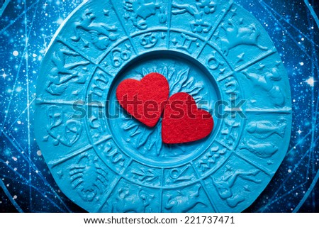 love for astrology - stock photo