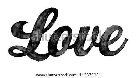 Love (Hand Drawn)