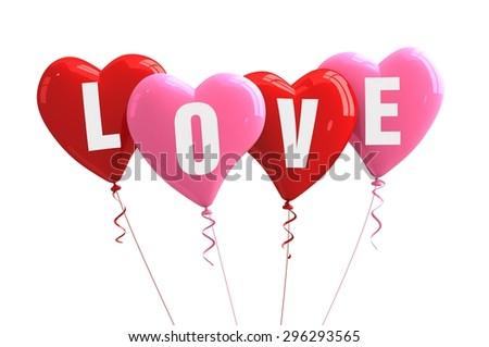 love hearts - stock photo