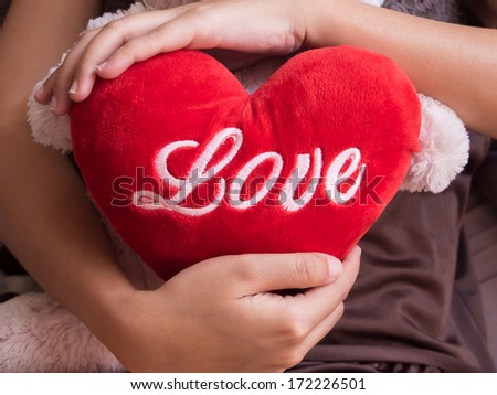 Love hugging - stock photo