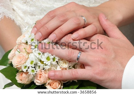 love in marriage - stock photo
