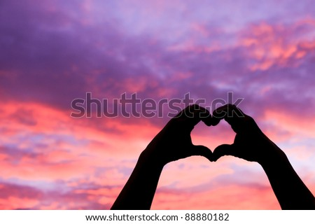 Love In The Air - stock photo