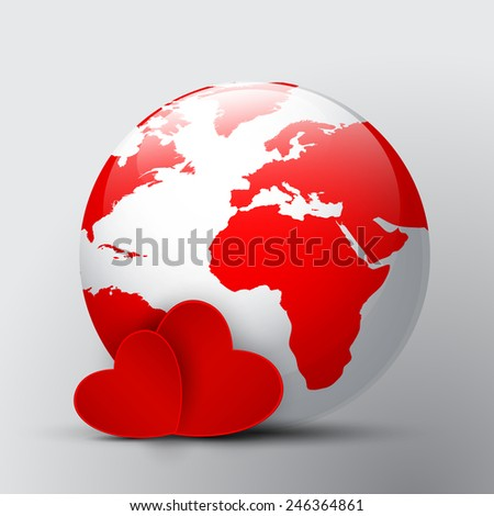 love in the world - stock photo