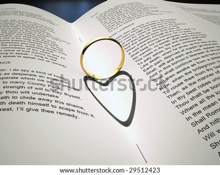 Love story - stock photo