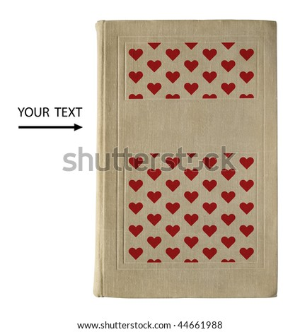 Love story. Book cover. - stock photo