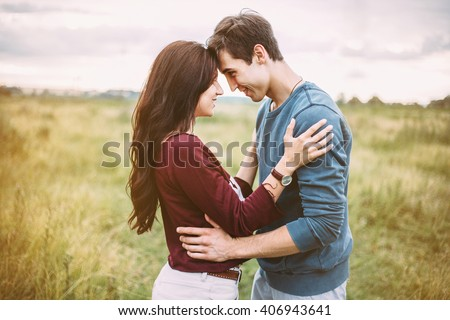 stock photo love story lifestyle man and a woman together outdoor kiss on the nature 406943641 - Are You Sure You Want to get a Partner Applying Real Russian Dating Websites?
