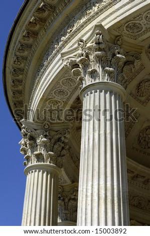 love temple at Versailles palace - stock photo