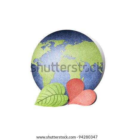 Love the Earth - stock photo