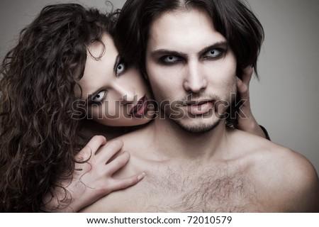 love vampires - stock photo