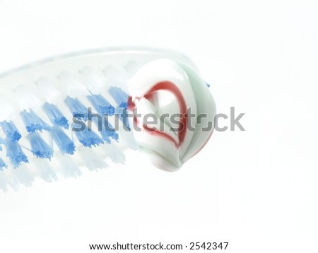 love your teeth and gums - stock photo