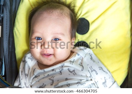 lovely baby smile