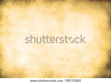 lovely brown background image with the texture of old paper - stock photo