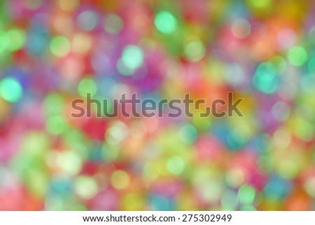 Lovely Colorful Bokeh for Party Background backdrop