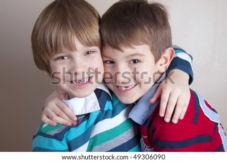 Lovely kids - stock photo