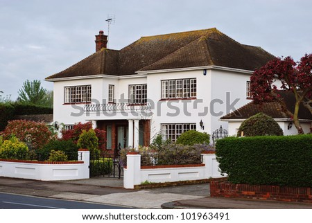 Lovely white cottage