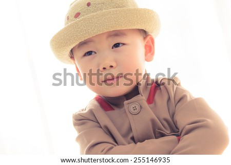 lovelye boy - stock photo