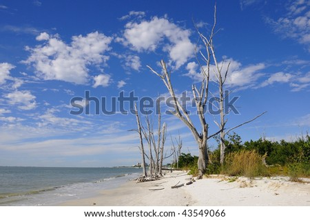 Lovers Key Beach - stock photo