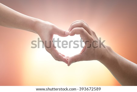 Loving concept. CSR God Son Child Trust Time Dad Human Hand Kid Team Pray Arbor Sun Sky Doctor Many Earth Form Help Unity Family Adam Light Faith Group Hold Support Cancer Grace Person Touch Mental - stock photo