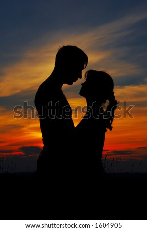loving couple... - stock photo